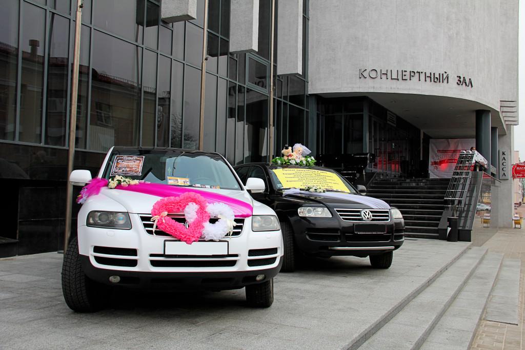 заказать Volkswagen Touareg